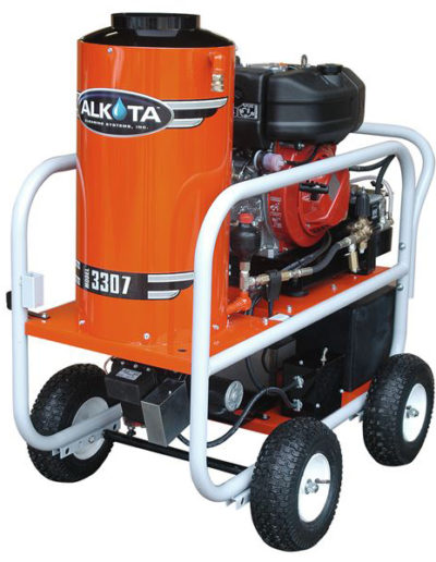 Gas Engine Drive Four Wheel Series Pressure Washers